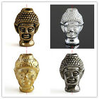 20pc Buddha Head Bead Charm Spacer C0779