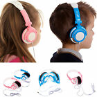 UltimateAddons Kids Boy Girl Small DJ Style Folding 3.5mm Stereo Headphones