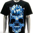r115 M L XL XXL XXXL Rock Eagle T-shirt Tattoo Skull Horror Grim Iceberg Demon