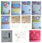 60th BIRTHDAY (Age 60) Party INVITATIONS & Envelopes {Fixed £1 UK p&p}(PI)