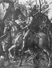Art Photo Print - Knight Death And Devil - Durer Albrecht Altdorfer 1480 1538