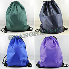 Nylon Drawstring Rucksack Backpack Wash Bag Laundry Pouch Travel Sports Gym Mini