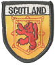 More images of SCOTLAND LION RAMPANT FLAG WORLD EMBROIDERED PATCH BADGE