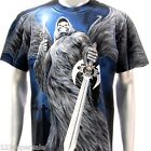 r15 Rock Eagle T-shirt SPECIAL Tattoo Skull Angel Demon Men Grim Reaper Indy Tee