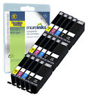 15 Compatible Canon CLI-551 / PGI-550 Ink Cartridges for Pixma Printers