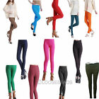 Womens Stretch Candy Pencil Pants Casual Skinny Jeans Trousers 4 sizes 12 colors