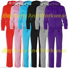 GIRLS VELOUR TRACKSUIT FULL ZIP UP HOODY HOODIE JOGGING PANTS BOTTOMS SPORTS SET