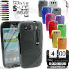 S-LINE WAVE GRIP SERIES SILICONE GEL CASE COVER FOR SAMSUNG GALAXY S3 I9300