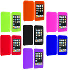 Color Silicone Rubber Gel Soft Skin Case Cover for iPod Touch 3rd 2nd Gen 3G 2G