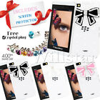 FOR BLACKBERRY Z10 BB10 LUXURY BLING 3D CRYSTAL DIAMOND BOW HARD CASE COVER