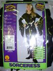 Witch Sorceress Gothic Girls Dress Costume NWT 8-10 12-14