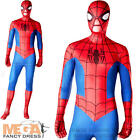 Spiderman Second 2nd Skin Body-Suit Fancy Dress Superhero Mens Adult Costume