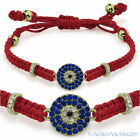 Evil Eye Greek Mati Turkish Nazar Jewish Hamsa Kabbalah Macrame Surfer Bracelet