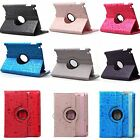 360° Rotating Magnetic PU Leather Cartoon Case Smart Cover Stand For iPad 2 3 4