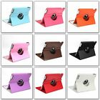 360° Rotating Magnetic PU Leather Case Cover Stand For iPad 2/3