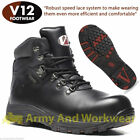 V12 THUNDER Waterproof Leather Safety Boot Breathable Composite Toe Midsole Hike