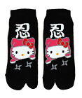 Hello Kitty Calcetines de Ninja/Geisha: Negro!!