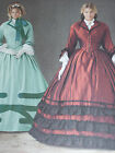 SIMPLICITY #1818-LADIES SOUTERN BELLE-GONE WITH THE WIND COSTUME PATTERN  8-24uc