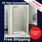 Sliding Bathroom Shower Door Enclosure Cubicle Chrome 1000 1200 1400 1700