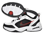 Nike 416355-101 Men's Air Monarch IV Cross Trainer White Black Red Wide 4E