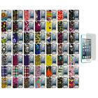 Design Hard Rubberized Case Cover+Screen Protector for iPod Touch 5th Gen 5G