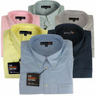 Mens Ben Sherman Oxford Eton Smart Long Sleeve Shirt King Big Sizes 2X 3X 4X 5X