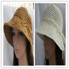 wholesale lots Straw lady Cap Women Girls Wide Large Brim Summer Beach Sun hat K