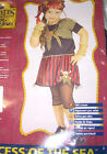 Pirate Princess of the Sea Dress Costume 2-4 8-10 NIP