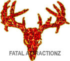 Raging Zombie Deer Skull Vinyl Sticker Decal buck whitetail bow hunting monster