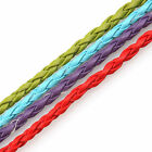 98Feet 30M Braided Wholesale Free Ship Leather Braid Rope Hemp Cord For Necklace