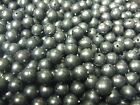 8mm Black Fishing Trace/Rig Beads In Bulk 500 - 1000, Top Quality British Bead
