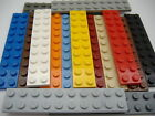Lego Plate 2 X 10 Part No 3832 Colours & Qty Listed