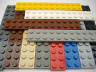 Lego Plate 2 X 12 Part No 2445 Colours & Qty Listed