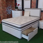 "DORLUX FLEXIPEDIC SPRUNG 3FT SINGLE 4FT6"" DOUBLE 5FT DIVAN BED - FREE DELIVERY"