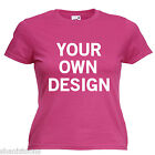 Personalised Hen Night Party Ladies Lady Fit T Shirt 13 Colours Size 6 - 16