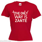 Zante Ladies Lady Fit T Shirt 13 Colours Size 6 - 16