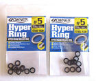 NIP 2PK OWNER  HYPER ROUND  WELDED RING STAINLESS SIZE 5 6 7