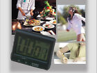 Large LCD Digital Kitchen Timer CountdownTimer Alarm Clock Cooking Stopwatch