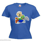 Builder Bricklayer Ladies Lady Fit T Shirt Size 6 -16