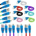 Happy Face USB Cable Charger for Samsung Galaxy S4 IV S3 S III S2 II Phone