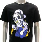 dd31b Sz M L DD T-shirt Tattoo Comic Cartoon Cute Dead Skull Graffiti Indie Rock