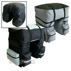 X-LARGE 3-IN-1 BICYCLE CYCLE PANNIER BAG WATER RESISTANT REAR BIKE RACK CARRIER