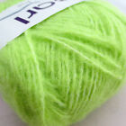 179 yds Worsted Soft Mohair Wool Knitting Yarn