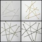 200 Pcs 25mm / 100 Pcs 50mm , 0.5mm thickness 2mm Ball Headpins - Various Colour