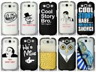 For Samsung Galaxy S 3 III S3 Cool Design Hard Cover Case Accessory