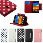 For Samsung Galaxy S II 2 S2 Epic Touch 4G Sprint Stand Wallet Case Cover Pouch