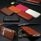Genuine Leather Wallet Flip Stand Case Cover For Samsung Galaxy S4 S IV I9500