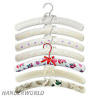 Premium Quality Padded Cotton Hangers Coat Clothes Top Design 40cm Hangerworld