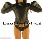 NEW Stunning Soft Leather LOVE top bodybag arm wing binder harness lock j-wing