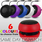 3.5mm RECHARGEABLE CAPSULE TRAVEL SPEAKER FOR NOKIA ASHA 200,201,202,203